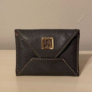 Dooney & Bourke Gray Card Holder